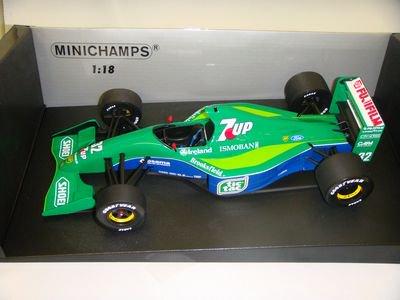 1/18 ミニチャンプス ジョーダンフォード 191 ベルギアングランプリ 1991 M.シューマッハ