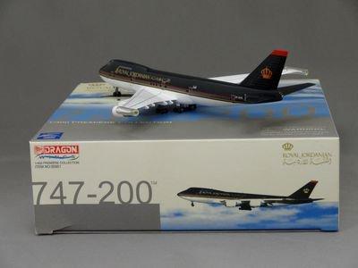 1/400 ドラゴン ROYAL JORDANIAN 747-200