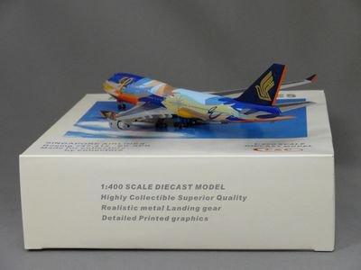1/400 C&C SINGAPORE AIRLINES B747-412