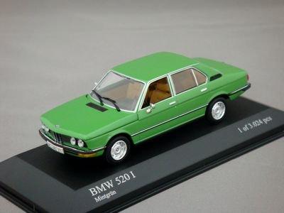 1/43 ミニチャンプス BMW 520i 1974 (グリーン)