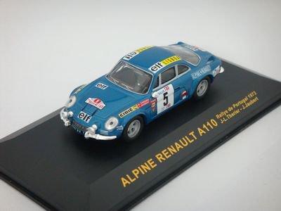 1/43 イクソ Alpine Renault A110 1800 ポルトガルラリー 1973 #5 (ブルー)