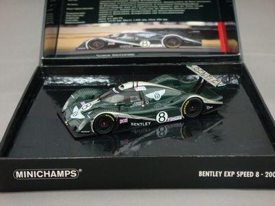 1/43 ミニチャンプス ベントレー EXP Speed 8 LM24 2002 #8