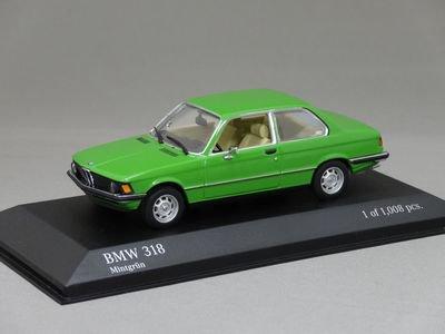 1/43 ミニチャンプス BMW 318 1975 (グリーン)
