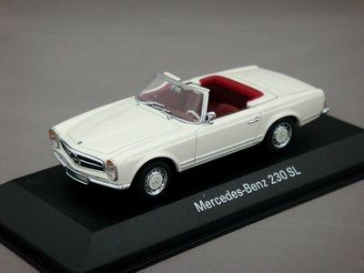 1/43 メルセデスベンツ 230 SL カブリオレ (ホワイト) 【ミニチャンプス】