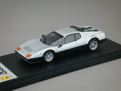 1/43 アイドロン フェラーリ 512BB 1976 (シルバー/ブラック)