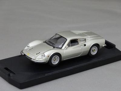1/43 バン フェラーリ ディノ 246GT ストリート 1969 (メタリックグレー)