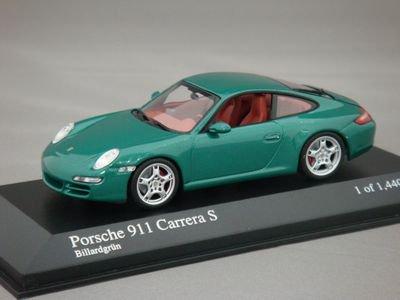 1/43 ミニチャンプス ポルシェ 911 カレラ S 2004 (グリーンメタリック)