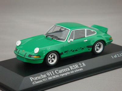 1/43 ミニチャンプス ポルシェ 911 カレラ RSR 1973 (グリーン)