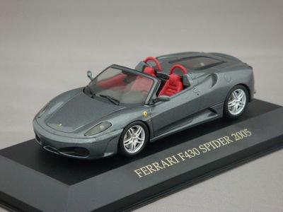 1/43 イクソ フェラーリ F430 スパイダー 2005 (シルバー)