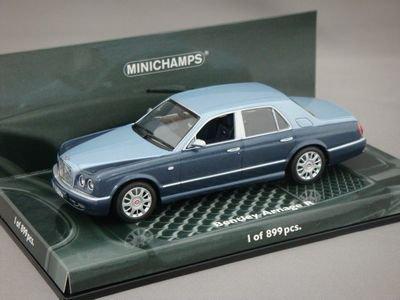 1/43 ミニチャンプス ベントレー アルナージ R 2003 (ライトブルー/ブルーメタリック)