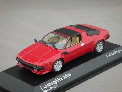 1/43 ミニチャンプス ランボルギーニ JALPA 1981 (レッド)