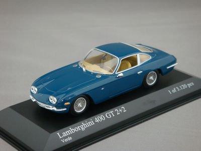 1/43 ミニチャンプス ランボルギーニ 400GT 2+2 1964 (グリーン)