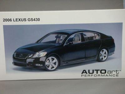 1/18 オートアート TOYOTA レクサス GS 430 2006 (ブラック)