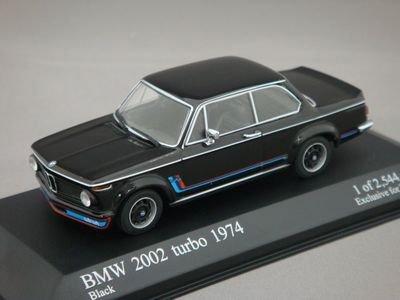 1/43 KYOSHO ミニチャンプス BMW 2002 ターボ 1974 (ブラック)