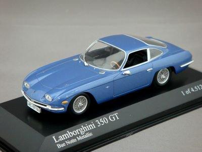 1/43 ミニチャンプス ランボルギーニ 350 GT (ブルーメタリック)