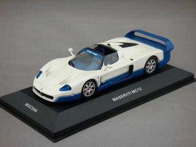 1/43 イクソ マセラティ MC12 プレゼンテーション 2004 (ホワイト/ブルー)