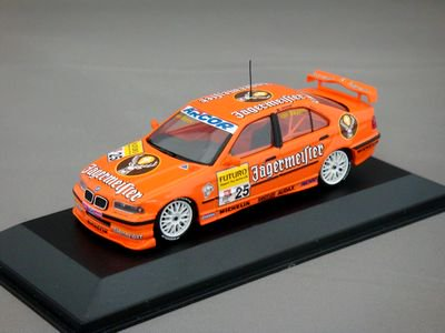 1/43 BMW 320i 1998 イエガーマイスター #25 【ミニチャンプス】