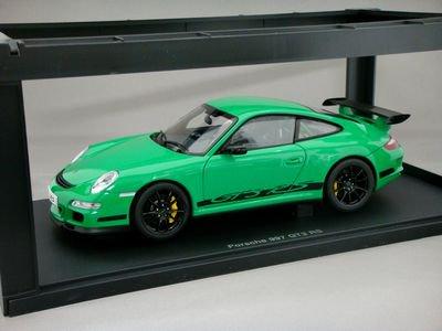 1/18 オートアート ポルシェ 911(997) GT3 RS (グリーン/ブラックストライプ)