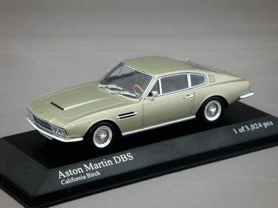 1/43 ミニチャンプス アストンマーチン DBS 1969 (シルバーグリーンメタリック)