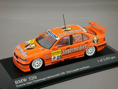 1/43 ミニチャンプス BMW 320i STW 1998 イエガーマイスター #25