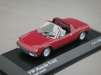 1/43 ミニチャンプス VW-ポルシェ 914/4 1973 (レッドメタリック)