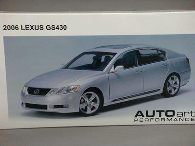 1/18 オートアート TOYOTA レクサス GS 430 2006 (マーキュリーメタリックシルバー)