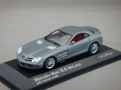 1/43 ミニチャンプス メルセデスベンツ SLR マクラーレン 2003 (ダークシルバー)