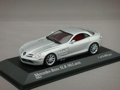1/43 ミニチャンプス メルセデスベンツ SLR マクラーレン 2003 (シルバー)