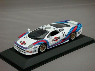 1/43 ミニチャンプス ジャガー XJ220 Martini レーシング GTカップ イタリア #11