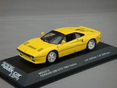 1/43 イクソ フェラーリ 288 GTO 1984 (イエロー)