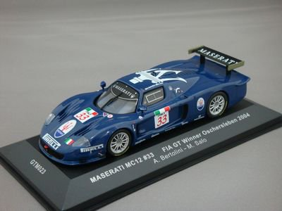 1/43 イクソ マセラティ MC12 #33 FIA GT ウイナー 2004
