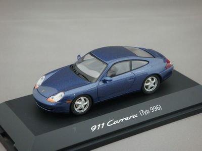 1/43 シュコー ポルシェ 911 カレラ (タイプ996) (ブルーメタリック)