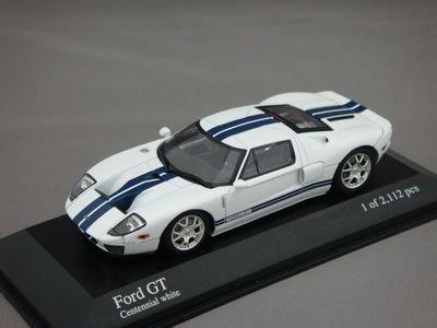 1/43 ミニチャンプス フォード GT 2004 (ホワイト)