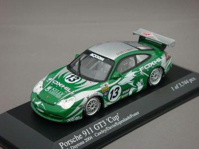 1/43 ミニチャンプス ポルシェ 911 GT3 24h デイトナ 2004 #13