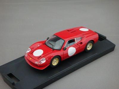 1/43 バン フェラーリ ディノ 246GT アメリカンレース 1969 (レッド)