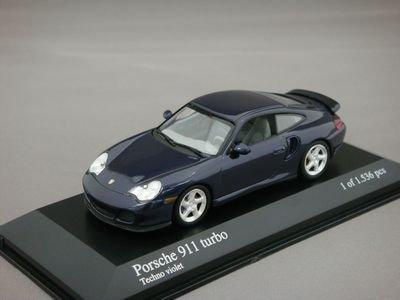1/43 ミニチャンプス ポルシェ 911 ターボ 1999 (パープルメタリック)