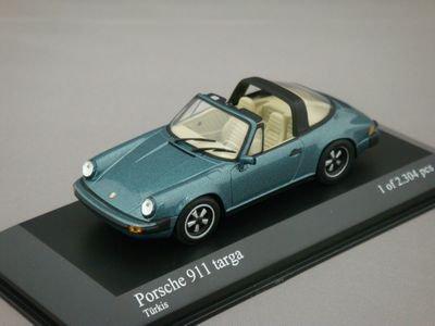 1/43 ミニチャンプス ポルシェ 911 タルガ 1977 (ブルー)