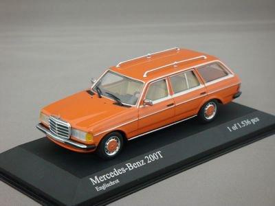 1/43 ミニチャンプス メルセデスベンツ 200T 1980 (オレンジ)