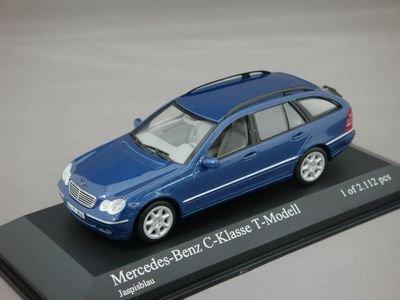 1/43 ミニチャンプス メルセデスベンツ Cクラス Tモデル 2001 (ブルー)