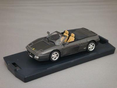 1/43 バン フェラーリ 348 スパイダー (ガンメタル)