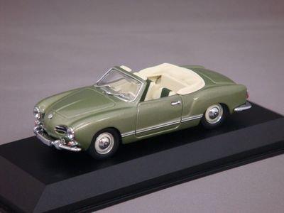 1/43 ミニチャンプス VW カルマンギア カブリオレ 1957 (グリーンメタリック)
