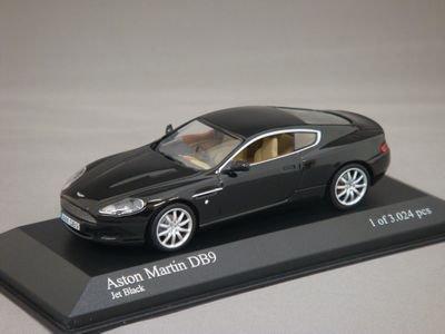 1/43 ミニチャンプス アストンマーチン DB9 2003 (ブラック)
