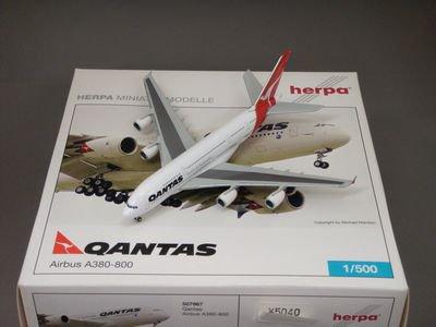 1/500 ヘルパ A380-800 カンタス航空 (VH-OQD)