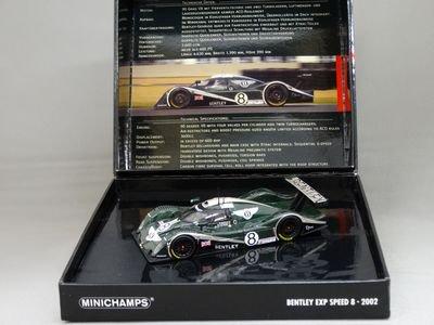 1/43 ミニチャンプス ベントレー EXP スピード8 ルマン24 2002 #8