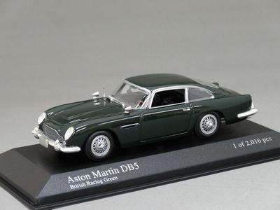 1/43 ミニチャンプス アストンマーチン DB5 1964 (グリーン)