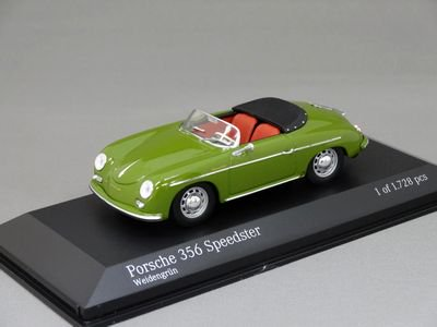 1/43 ミニチャンプス ポルシェ 356A スピードスター (グリーン)