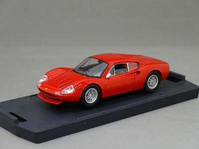 1/43 バン フェラーリ ディノ 246GT ルマン レーシング 1972 (レッド)