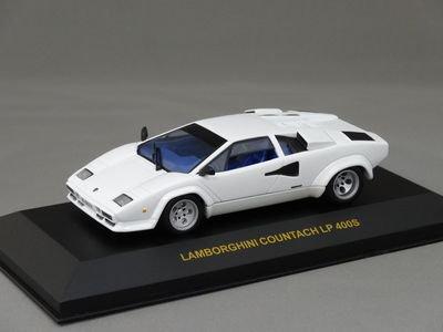1/43 イクソ ランボルギーニ カウンタック LP400S (ホワイト/ブルーインテリア)