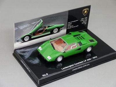 1/43 ミニチャンプス ランボルギーニ カウンタック LP400 1974 (グリーン)