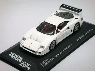 1/43 イクソ フェラーリ F40 1990 (ホワイト)